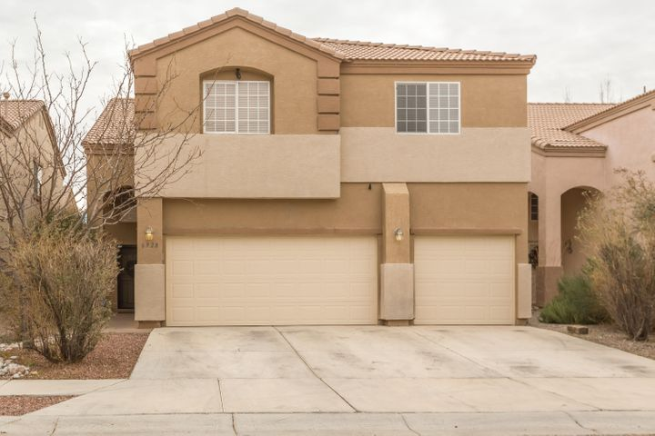 Welcome home! Spacious and spectacular two-story home. Open floor plan that you will love! Ample space throughout the home for entertaining. Featuring on the main floor Large living area with gas fireplace that opens to the kitchen,  a study or fourth bedroom.  With a covered patio and grass and plenty of trees for natural shading. On the 2nd floor you will find an oversized loft with plenty of room to spread out.  Master bedroom with balcony and a grand bathroom. 2 bedroom and 2 full baths, the convenient location of the Laundry room. Stop in Today for your showing!