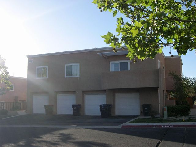 Come and make this peaceful gated community your home in a beautiful 2 bedroom, 2 bathroom condo!  Open floor plan for kitchen, living area and dinning areas. New tile in all the wet areas.  Bedrooms are large.  Master has walk-in closet, 3/4 bath.  Mountain views from the balcony! Washing machine is new! Service area is very convenient.  Plenty of storage in this condo.  Excellent location too!  Single finished one car garage with extra storage.  HOA covers some utilities, insurance and care for the common areas, roofs and stucco!