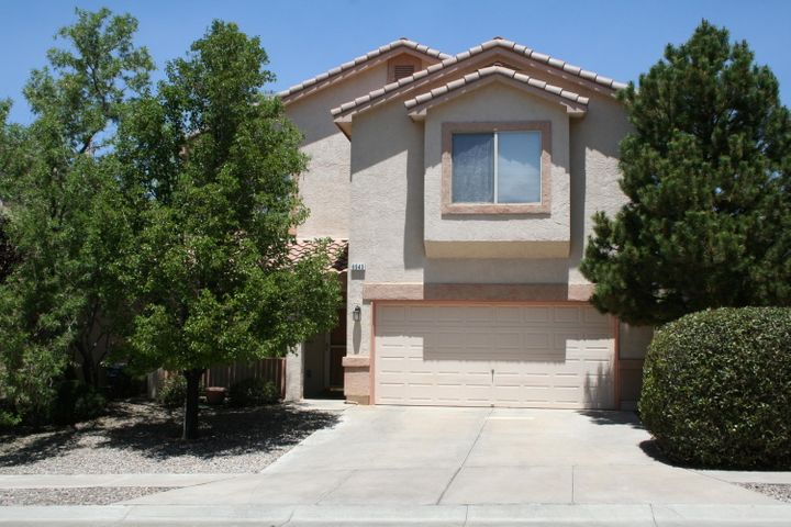 Plenty of room for everyone in this immaculate 3BR La Cueva Beauty! Formal living room & family room plus a bonus upstairs area that would make an awesome exercise, hobby or game room. Well appointed kitchen with convenient island will certainly please the family chef. Spacious master bedroom is truly fit for royalty! You are sure to enjoy the panoramic mountain views from the balcony!  EZ care landscaping front & back.  Close to shopping and access to I-25.  La Cueva School District.