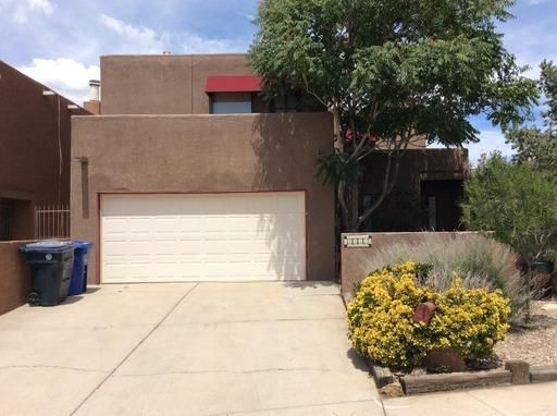 A truly beautiful patio home with panoramic views of the Sandias and City Lights. Very private back yard with deck and lots of plantings. Very quiet and convenient neighborhood. Bonus room on main level.
