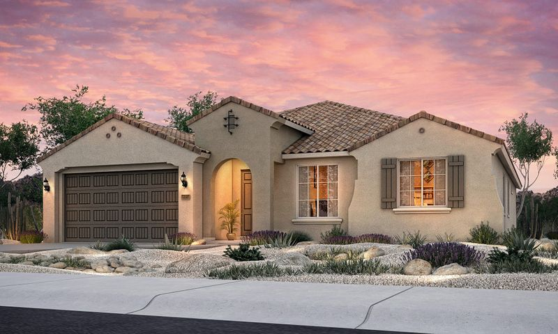 Brand new, never lived in Pulte home. Enjoy brand new appliances, new carpet, new A/C, new tank-less hot water heater, and so much more! The Cranbrook is complete with an office, Pulte Planning Center(r) off the kitchen and gathering room, powder bathroom for guests, and a flexible living space. The kitchen is complete with built-in stainless appliances and a large island with granite with a cafe off to the side. One of the final new homes in Cabezon!