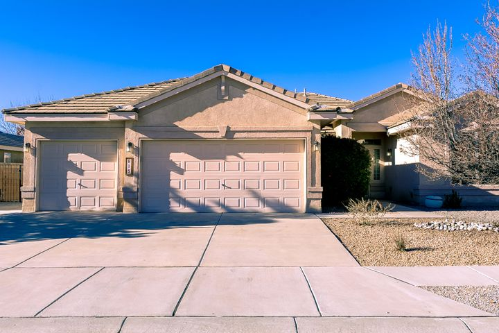Located in the highly sought after Vista del Norte subdivision, you will find this incredibly maintained single story home with a spacious 3 car garage and backyard access.  The freshly painted and cleaned interior has multiple living areas, a formal dining room, a large office with built-in bookshelves, 3 bedrooms and 2.5 bathrooms. Spacious kitchen offers a breakfast nook, island, walk-in pantry, separate butler's pantry with wine cooler,, refrigerator, microwave, gas stove/oven. The master suite includes a walk-in closet, double sinks, jetted tub and separate shower. This home also features a gas fireplace in the great room, laundry service room, refrigerated air conditioning, tile roof , alarm system. fully landscaped front and back yards. Won't last long!