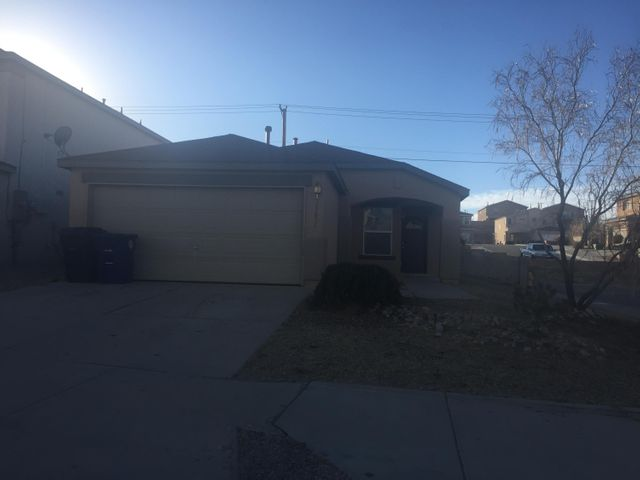 The beautiful single story home is on a large corner lot, the home features new paint, updated light fixtures, a new back splash, and plush neutral carpet. This home  is move in ready.