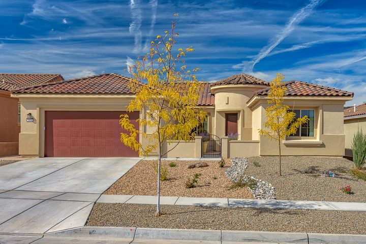 Lovely Home in the 55+ Active Adult Community of Del Webb!! This Serenity Model 2329SF home is less than 1 year old and is like new & will come with transferable warranties for Roof, Heat/Ref Air & Structure!  This gorgeous home has 3 BR's plus an Office, 2 baths and 2 1/2 Garage! The kitchen has beautiful cabinetry, granite, gas cooktop,  microwave, wall oven and a large kitchen island! The roomy Master Suite has a bay window, nice walk in shower, dbl sinks with granite and large walk in closet! Home offers plenty of storage in the home and in the garage! Park your extended cab truck easily in the 2.5 garage!!!   Backyard is prof landscaped, complete with extended patio, plantings, moss rocks & many trees.  Enjoy daily activities at the Amenity Center, tennis, gym, pickle ball, pool, etc!