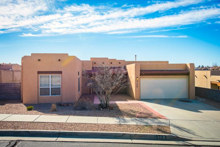Great opportunity to own this 4 bedroom single story home in tucked away Tuscany Subdivision!  Very convenient location with close proximity to shopping malls and hospitals. Home features a light and bright open concept floorplan, stainless steel appliances, 10ft ceilings throughout, gorgeous granite counter top in kitchen, newer Kohler shower in master bath, plank flooring, and much more.  Come see this home today!
