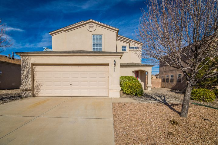 Sweeet-Really! Lovingly updated 3 BR, 2.5 BA in the popular Ventana Ranch community. Spacious, open kitchen has hardsurface counters, new SS appliances + pantry; greatroom has a wall of windows + lovely ceramic flooring; each bath = updated; small upstairs loft could be office or ? Nice sized MBR has jet tub + walk-in closet ... Refrigerated air, newer flooring, patio doors, lighting, fans and h20 heater. Fresh paint throughout. Absolutely move-in ready. Hillerman/Volcano Vista schools!