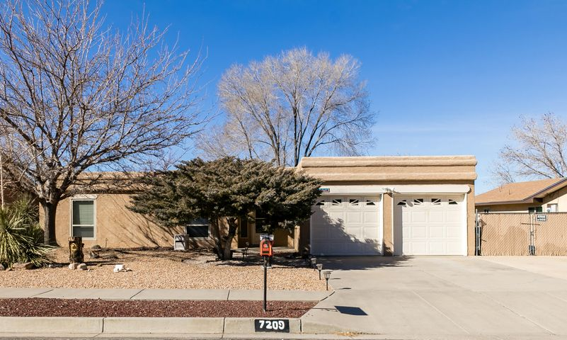 Welcome to this lovely move-in-ready home in a highly desirable NE location! Enter through a formal foyer to a family room featuring wood beam ceiling, built-in cabinetry, a bar for entertaining and a cozy brick fireplace with hearth and mantle. Kitchen has SS dishwasher & fridge, full tile backsplash, ample cabinets & counter space plus a pantry. The owners suite offers a spacious bedroom and bath with double sinks, large shower, walk-in closet and lots of storage. The lovely fully landscaped backyard offers backyard access, mature trees, a covered patio, 2 storage sheds, an RV pad and a hot tub. This super home is located in a highly rated school district and is close to a park, shopping and restaurants. All just waiting for you to make it yours!