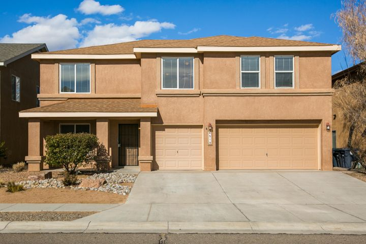 Fresh paint and new carpet throughout, currently in the process of cleaning and taking new photos!  Beautiful Pulte Home located in desirable Seville Community. This 2 story floor plan is very open and has so much to offer. Enjoy the gourmet kitchen which boasts a large kitchen island and spacious panty. There are three generous bedrooms upstairs. The two living areas give this home such flexibility. Enjoy cozy evenings with the gas log fireplace or head up to the loft to enjoy a game with friends and family. There is even a roomy three car garage. Need to unwind after a busy day? Step out to the covered patio and spacious back yard that is nicely landscaped and enjoy!
