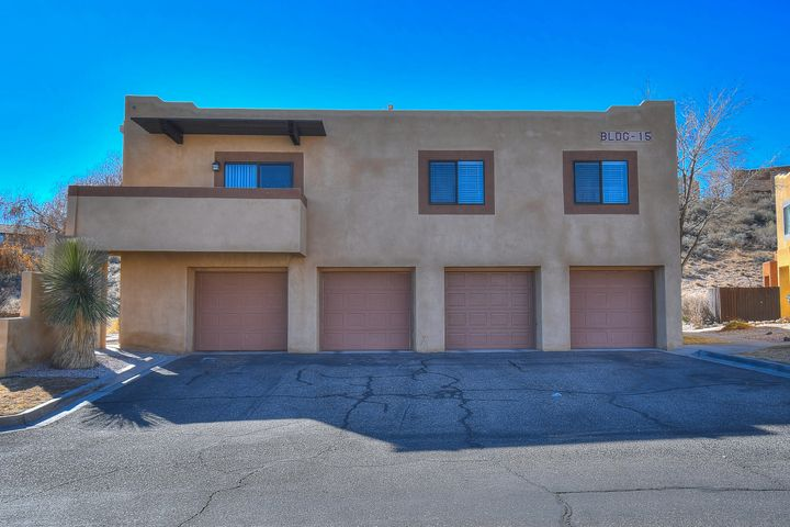 Welcome home to Arroyo Del Sol! Sought after floor plan with 2 bedrooms and 2 baths. Private second story unit with no downstairs neighbors! Over-sized 1 car garage with private entrance on the main level. Come upstairs to find a great layout that is just perfect for easy entertaining. Upgraded laminate floors and view deck. Open kitchen with lots of storage space. Master suite boasts large closet and private bath. Live worry free, HOA covers: water, sewer, trash, grounds and exterior. Close to shopping, golf, schools and dining. Eligible for FHA financing.