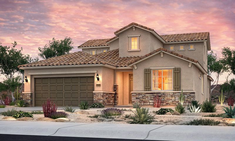 Light and bright Carissa floorplan.  This home sits on a corner lot in the sought after gated community of Tierra Serena.   Open floorplan, chef kitchen, with granite and stainless steal appliances.  Large gameroom upstairs with a balcony to take in the sunsets or watch the balloon fiesta!  Plenty of parking on this oversized driveway.   This home is complete February 2019.  Don't miss out on this fabulous opportunity.