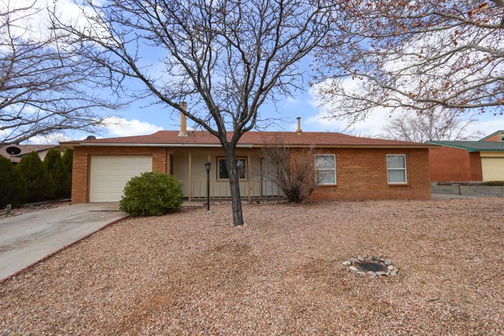 You will be CELEBRATING after finding this Pre-Inspected/Guaranteed home! Complete remodel in established neighborhood, mature trees on .23 acres. Interior includes NEW, NEW and more NEW! Stainless appliances, Granite counter tops, wood laminate, ceramic tile, carpet in bds, fixtures, fans, paint, mirrors, sparkly subway tile in both full baths, refrigerated air. Breakfast bar, living/dining combination with cozy wood burning fireplace. Low maintenance yard front and back, hot tub pad, walled backyard, shed, attached garage... A must see! Come prepared to be WOWED and to CELEBRATE finding your next home!!