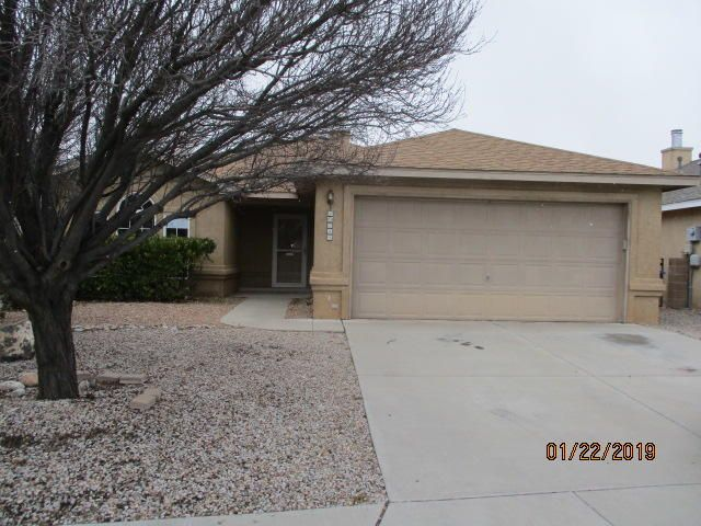 This 3 bedroom, 2 full bath offers character all the way up to the vaulted ceiling!  Enter the home and you are greeted by the 3-way fireplace located in the living area and see your way to the first bedroom of the home with built-in shelves that will function for extra storage or display. Master bath has separate double sinks opposite of shower/tub. Kitchen includes small breakfast nook and an open view to dining area straight through to the covered patio of the walled backyard. HOA 72.60 is a quarterly fee.This property may qualify for Seller Financing (Vendee). Seller does not pay GRT.