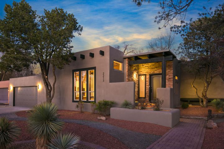 This immaculate blend of Old-World Timeless meets Contemporary Modern was designed with you specifically with your family in mind! This dazzling house is ready for you to make it your home today. Attention to detail and pride of craftsmanship are palpable the moment you park the car. This home's exterior boasts South West xeriscape, new stucco exterior (2018), brand new (December 2017) foam insulated roof with 20-year transferable warranty, new windows (2017), cultured stone entry, and a brick front stoop. Once inside one can't help but notice the massive timber and impressive sightlines. This stunning blend of Old-World Charm meets New World Contemporary is like no other on the market. It is our belief that you shouldn't have to compromise between Character/Charm and Modern amenities,