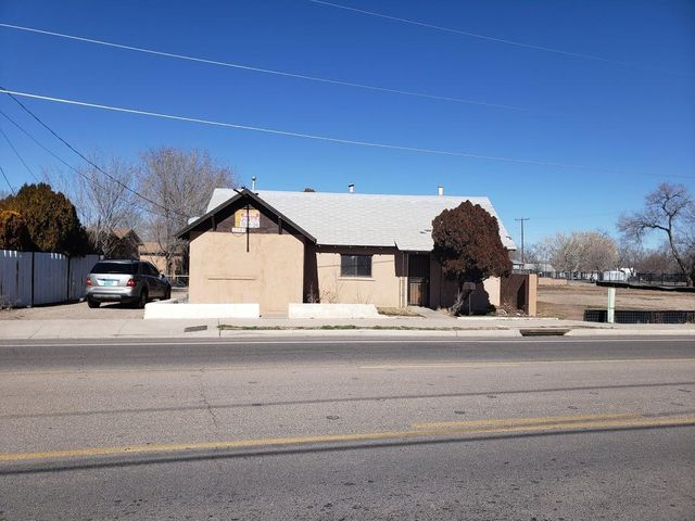 Home being sold as is, needs some work. Almost 1/2 acre lot with room to build. Favorable Atrisco overlay zoning.