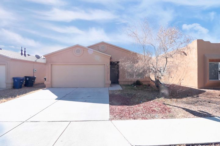 This great single story home in the SW part of Albuquerque is now for sale. Home features 3 Bedrooms, 2 Full Bathrooms, open kitchen perfect for entertaining guest and living room with fireplace. Home comes with appliances, has refrigerated air perfect for the hot summer days and an attached 2 car garage.  Call this home yours today as it won't last long.