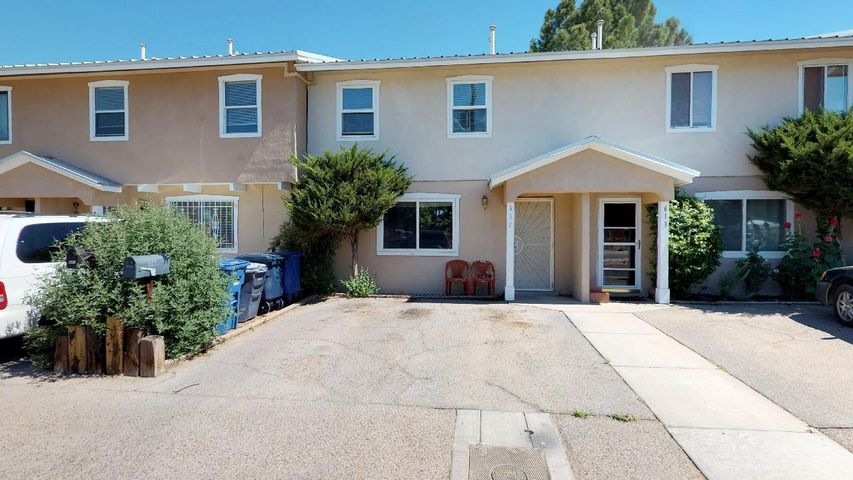 Sellers offering up to $5000 for Carpet & Paint Allowance  THIS ONE IS A KEEPER & a GREAT Investment !!!  Welcome to Guadalupe Village! Efficient & well-maintained townhome in the heart of North Valley. What a great place to call home. The downstairs bathroom is co-located with the downstairs bathroom convenient to living area and dining area. The upstairs bedrooms are close to a Full bath. This would make a nice first home or investment property. Close to shopping &  beautiful park areas where you can enjoy Friend & Family get-togethers or just let the kids enjoy the playground.  Enjoy the backyard with a covered patio. Walking trails close -- just to the end of the subdivision. Inspections have been completed & repairs have been completed. Come make this home yours before it is too late.