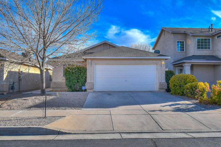 ** BACK ON THE MARKET ** Delightful 3 bedroom, 2 full bathroom home located in the beautiful gated community of Vista Sandia Subdivision. Great starter home or investment property. Home has newly installed flooring in Master bedroom and office, spacious backyard with great potential! This will not last long! Call for a showing today.
