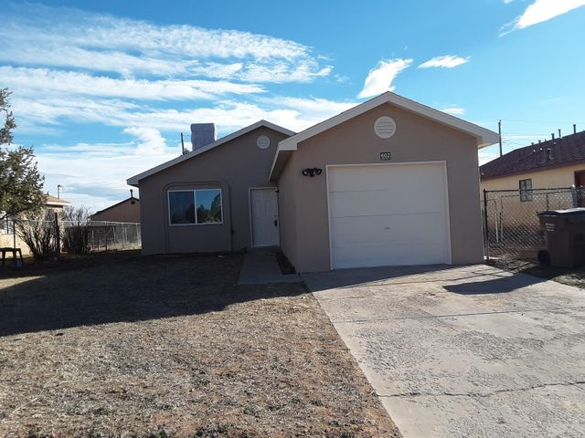 Great starter home. Newly remodeled. New paint, appliances and flooring. Very cozy home. Finished garage can become living square footage with very little work.