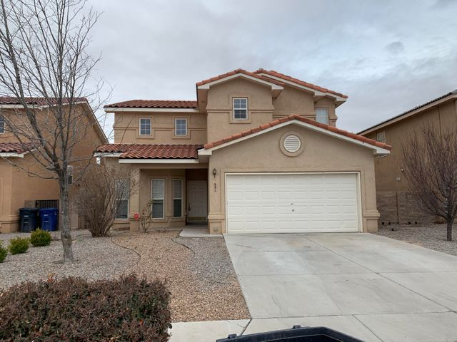 Fuller built 2 story w/4 bedrooms, 2.5/baths, 2 car garage.  All bedrooms upstairs.  Formal living and dining.... large den with fireplace.  Covered patio and balcony off master.   Backyard has potential for terracing.  Some views.