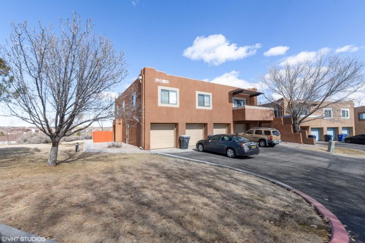 Beautiful two bedroom Condo located in the NW area of Albuquerque. Near shopping and schools. Property has new flooring, fresh paint, granite countertops, new stainless steel appliances. Move in ready! with detached garage. Don't miss out.