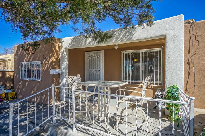 Very nice house for this price  , good size bedrooms ,Big back yard , nice security fence in front  yard, wood floors and much more