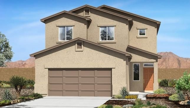 Welcome to the Trailblazer.   This home features the highly desirable Master Bedroom Downstairs.  This open plan provides well defined separation.   The upstairs features a large game room to compliment the 3 upstairs bedrooms.  This home brings privacy and openness together perfectly in one amazing plan