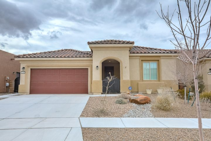 Beautiful 2.5 year old home in the exclusive Del Webb Mirehaven Community!  This 2035 SF 'Preserve' was built with several upgrades!  The 'Preserve' has a nice open floorplan with 2BR, 2BA, Oversized 2CG w/ additional storage area,  20 x 20 floor tile,  beautiful granite and cabinetry in kitchen, both bath's & laundry, stainless steel appliances, large dbl stainless sink, raised dishwasher, gorgeous island with pendant lighting, Master BR has bay window, Master Bath has huge walk in shower w/ stone floor &  tiled and stone surround, DBL sinks with a vanity, huge WIC, custom shades and shutters and blinds throughout, Den/Office has nice French Doors, backyard is professionally landscaped! This Del Web has 4 Pickle Ball & 2 Tennis Courts, Pool, Clubhouse w/ full GYM, daily activities, etc!