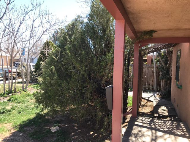 Home has been remodeled,some repairs still need to be completed, home sells as is,  it has lots of space, nice wooden floors, corner lot, it also has an accessory building in the back. Seller will consider REC with 15% down