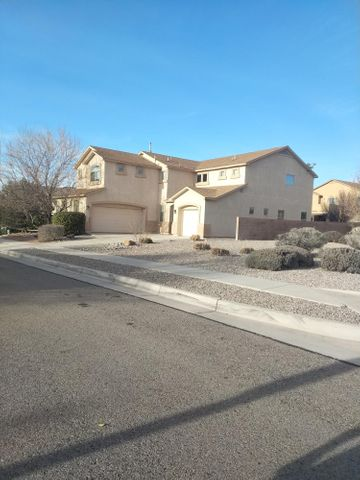 Wonderful Home on Corner Lot, Walking Distance to Community Parks. Bright Open Family Area Plus Office, 2nd Living Area w/Gas Log Fireplace Open to Gourmet Kitchen, Lg. Island, Corian Countertops, Cherry Stained Cabinets, Upgraded SS Appliances, Gas Stove & Formal Dining. 2 Ref A/C Units, Huge Master Suite w/Fireplace, Full MBR Bath w/Double Sinks, Sep Tub & Shower & His and Her Lg Walk-in Closets. Open Loft Area w/Balcony Plus 3 Additional Bedrooms w/Walk-in Closets and Full Bath w/Double Sinks.