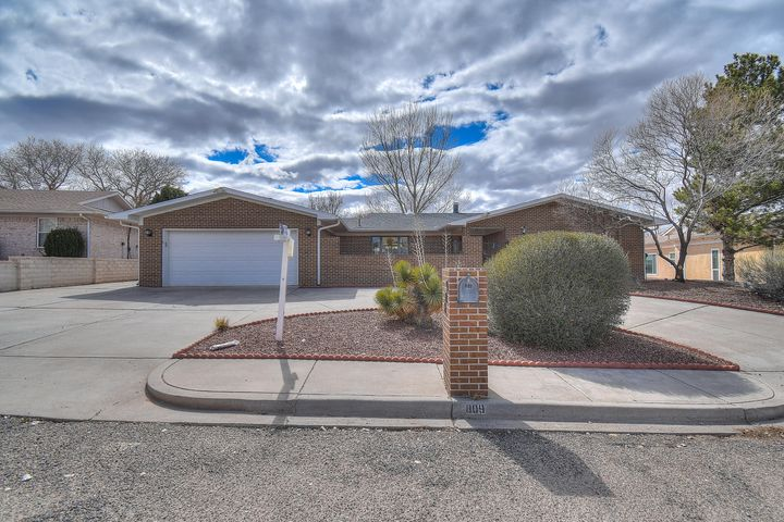 Well cared for home backing to the golf course in Belen! Oak entertainment center in spacious living room with wood burning fireplace. Gorgeous views overlooking the golf course! Backyard access possible with shed in backyard. NEW ROOF Feb. 2018!! Also Feb. 2018...new skylights, fascia & gutters!
