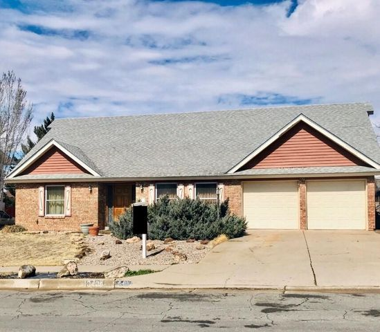 Amazing property ready for new owner.  this 4 bedroom 2 bath offers 2 living areas, wood fireplace along with private backyard. Priced to sell needs TLC.