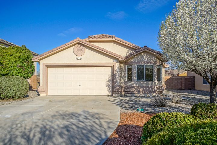 Welcome Home! This very well maintained 3/4 bedroom 2 full baths home is located in the well established, very sought after community of Vista Del Norte. You will love the open space between the main living living room and kitchen. The Master bedroom is separate from the other bedrooms and has top down bottom up blinds, the master bath has double sinks. You will stay cool during those hot summer days with Refrigerated Air. The home has newly installed carpet and vinyl plank flooring and new paint throughout. Easy outdoor maintenance  with xeriscape out front and grass in the backyard. Room to relax and entertain at the covered patio out back, with plenty of room on the side of the house for a dog run. MInutes from three different parks and I-25. come take a look you will be glad you did.