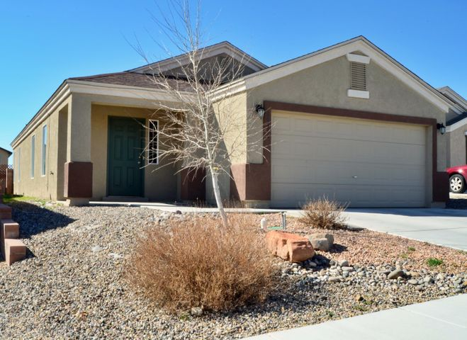 Almost new house for less! Well maintained paint and carpet. Solar Panels with transferable lease to cap your electric bill at about $63/month. Refrigerated air. 3 bedrooms, 2 bathrooms, potential for 2 living spaces with eat in kitchen bar or one living space and a dining area. Must see home!