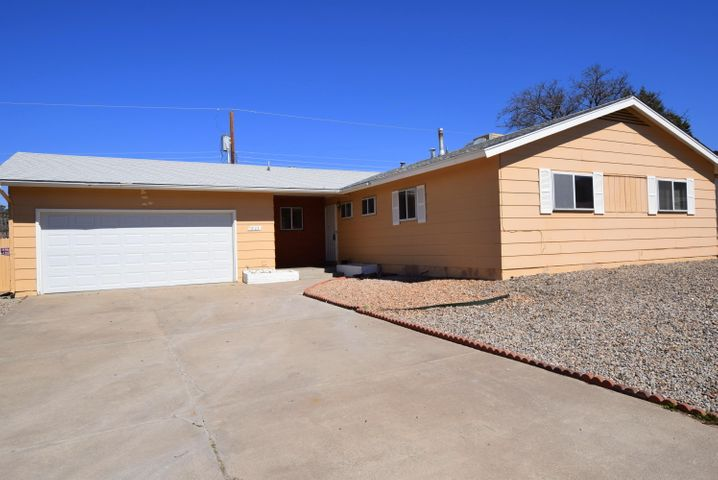 Great starter home in a quiet heighborhood.  No carpet. New kitchen countertops. Nicely done bathrooms.  New paint throughout. Make the backyard your's - ready for entertaining.