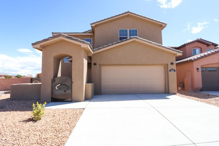 Brand new Twilight Home on large corner lot, now available in a highly sought after gated community within walking distance to Volcano Vista HS. 2181 sq ft 4/3/2. Open floorplan. Kitchen boasts granite, SS Appliances, Island with seating, backsplash etc. Waaay too much to list. This is a MUST SEE!! Won't last long!!!