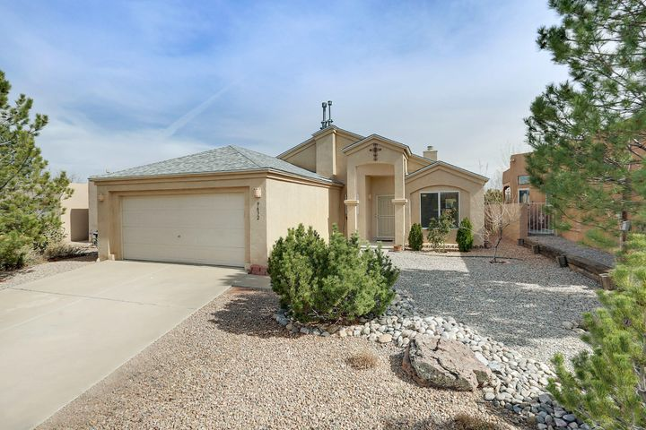 Welcome to Vista Casitas in Ventana Ranch. This lovely home features  Vaulted Cathedral Ceilings, Fireplace In Living Room, and roof that was just replaced last year. This single story home has lovely floor plan with the an oversized living room and eat-in kitchen. Don't miss out on this gem!