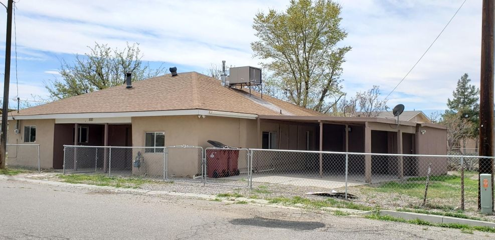 Excellent Opportunity for Investors and Owner Occupants alike. Cozy 3 BR House in need of some TLC on oversized Lot. Part Adobe (original Adobe age unknown, Addition seems to be from 1985 according to County records) with Carport for 2 Vehicles and plenty of Storage. Updates over the last 5 years include cooler and water heater. Roof was done about 6 years ago and the furnace about 7 years ago. Seller is offering up to $2,500 towards Buyer's closing costs or updates.