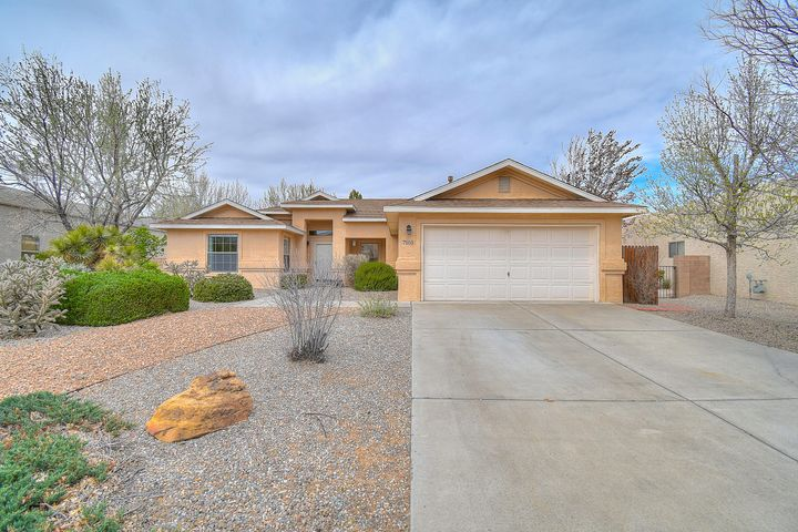Welcome to this Beautiful Presley home in Ventana Ranch.  This home features a nice open kitchen which faces the family room, perfect for entertaining.  This large living space has nice a built in area for your TV as well as a gas fireplace.  Nice size master suite, and the master bath features a tiled shower and walk-in closet.  You'll love the updated laminate wood floors in the living and main traffic areas, easy to clean.  We saved the best for last, you'll want to spend a lot of time in your lush backyard with mature trees and grass! Brand new roof just installed,  Come see this move in ready home today.