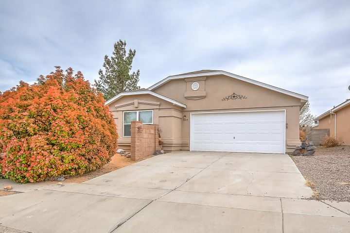 Price, Location and Customized. Come walk this amazing 3 bedroom, 2 bath, 1 story beautiful home near new parks, restaurants and hospitals. Vaulted ceilings, custom landscaping with patios, courtyard walls and private outdoor living. Fresh paint, fresh carpet and move in ready.