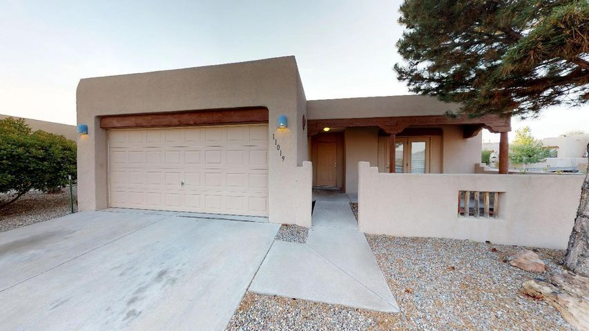 Check out this beautiful corner lot in 7 Bar North that just became available! Features include **Corner Lot**NEW ROOF on main roof 2018**New Evaporative Cooler 2018**Newer Flooring Throughout**Viga Beam Ceilings**Tile Countertops**Fireplace in Master**Covered Patio**Courtyard**Close to Schools, Shopping, Restaurants, and More!!**