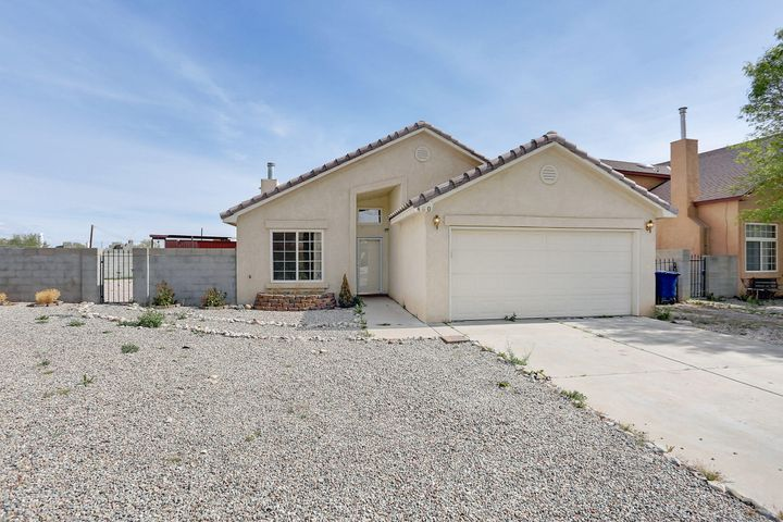 Great Property move in ready!  New Paint, New Carpet, New Stainless Steel Appliances, New Fixtures,  Granite counter tops in kitchen,  backyard access, refrigerated air, covered patio.  big yard!