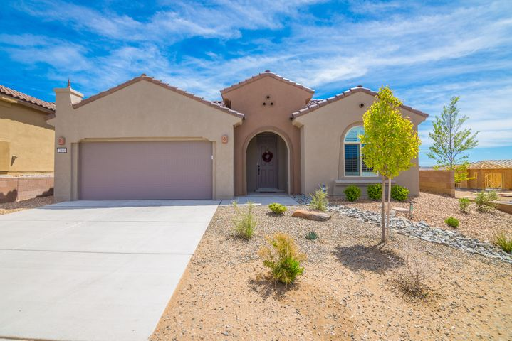 Gorgeous Home in the Del Webb Mirehaven 55+ Community!  This ''Haven'' model was built in 2018 and is 1883SF.  The home sits on a premium corner lot and has some nice mountain views which can be seen from the  living room, cafe and kitchen! Owner put many beautiful upgrades including hardwood flooring, white cabinetry with gorgeous granite counter-tops, additional cabinets in laundry room, over-sized builtin Jenn Air Fridge, custom window coverings... All of the exterior has been professionally landscaped and rain gutters installed! There will be a beautiful custom 'sun sail' installed in the Courtyard in about two weeks.  The master bedroom is currently used as an office and has a bay window.  The dining room (or office/den) has  French Doors.  All appliance remain!
