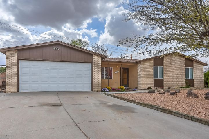 This is a super cute three bedroom home with two living areas. Extra large lot with backyard access. New roof in 2017. Kitchen has farm sink, new dishwasher and microwave. Newer oven too. Both bathrooms redone. Tile in all wet area. Brand new carpet too.