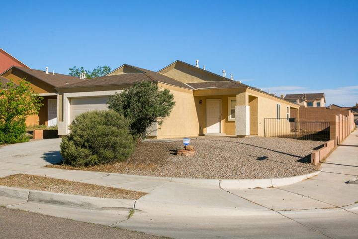 A very well maintained single story with 4 bedrooms possible, 2 baths, 2 car garage, covered patio, back yard access, on a corner lot.