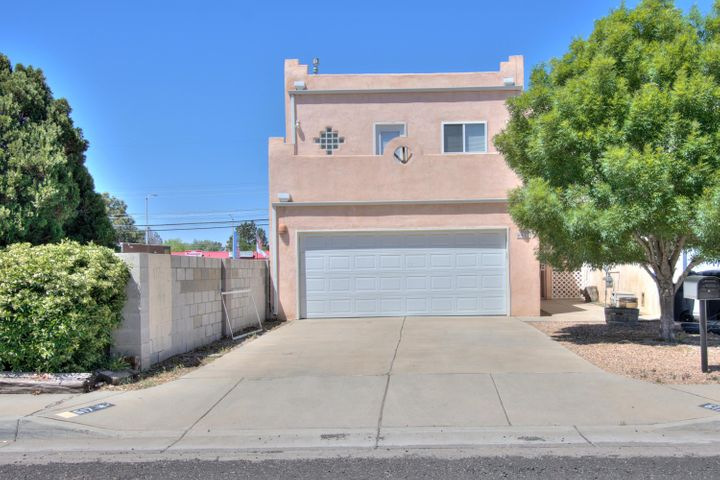 Welcome to this great open floor plan with some great views from master's balcony.  Home offers open kitchen, leading to dinning area. Home as a beautiful loft looking down at dinning and living room area. Backyard is ready for your creative landscaping.