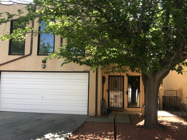 Great townhome in a great location close to freeway, shopping with easy access to all areas of town. This property features 3 spacious bedrooms, large open living area with kiva style fireplace. New Carpet and paint, nicely easy to maintain backyard with side gate access. Open patio out back and front balcony off master bedroom. Kitchen offers an open feel to dining and living areas. This home also offers a 2-car garage.  Come by and take a look you won't be disappointed.