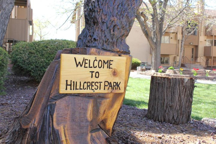 Welcome To Hillcrest Park Condos.  This Gated Community Offers Security and All The Amenities You Could Desire From A Large Pool with Hot Tub To A Public Clubhouse Complete With A Pool Table, Sauna and Work Out Area.  This 3 Bedroom 2 Bathroom Unit Is Perfect For Anyone Who Needs Space and A Cute View Of A Central Court Yard.  Each Bedroom Is Over Sized!  BONUS!  You Don't Have To Worry About A Water Or Gas Bill Because The HOA Covers It!