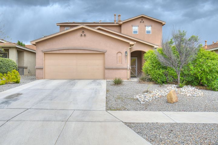 A must see! This home is located in the desirable Cabezon Community. Enjoy the community pool or take a short walk to the Cabezon Park! Fall in love with the open floor plan and the ABUNDANCE of space, great home for any growing family! Highlights of the the home include; built in surround sound speakers in the living area, pull out cabinets in the kitchen, upstairs living area, built in bbq grill, and a built in gas fire pit. Home comes with 2 years of bug treatment for free (warranty). Schedule a showing. Make it yours today!