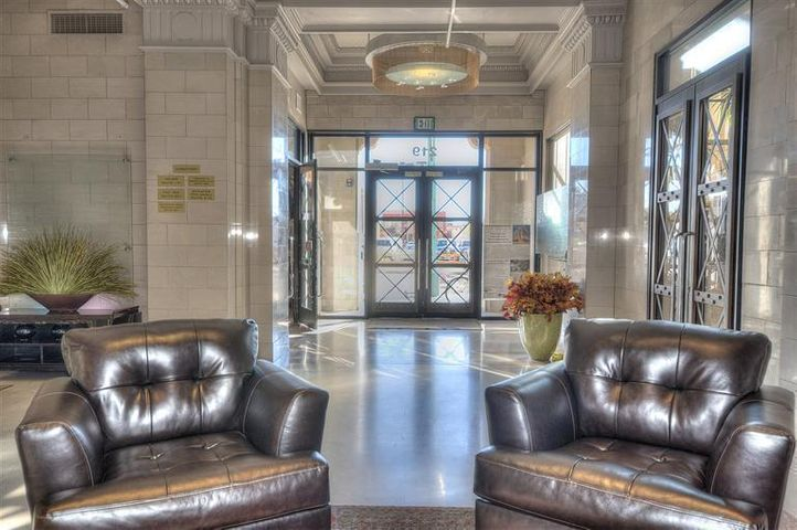 **Open House** 5.28.19 5pm Located in the heart of Downtown inside the iconic historic ''First National Bank'' building, which is part the Albuquerque skyline; A newly proposed construction boasts 1391 sqft high end urban 3rd floor loft being exclusively offered by the owners, 2 level NY style living! buildouts will offer state of the art finishings, and design, Security guard, key card access building, and the option of secure garage parking. . Great views of downtown, and access to the 4,000 sqft rooftop deck with expansive panoramic views of the city and mountains. Walking distance to fine dining, arts and downtown culture! Short walk to the NM Rail Runner /train station.  Virtual Tour and floorplans attached.