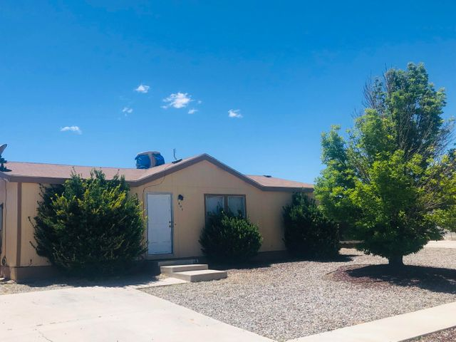 Don't miss out on an opportunity to live on the bluffs.  This community is located not 2 minutes from I-25 and right on the outskirt of historic Belen.  This home is priced to sell and will not be available for long! Seller will consider owner financing.